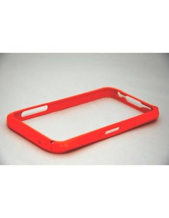 Алюминиевый чехол Iphone 5 Bumper. Оранжевый цвет