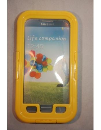 Водонепроницаемый чехол Samsung Galaxy S4. Желтый цвет