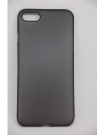 Тонкий защитный чехол для Iphone 8 ZNP. Черный цвет