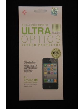 Комплект матовых пленок SGP Ultra Optics Iphone 4/4s