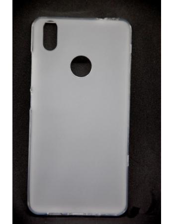 Чехол силиконовый BQ Aquaris X/X PRO силиконовый. Белый цвет