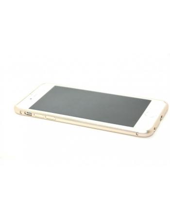 Алюминиевый чехол-бампер для Iphone 6 PLUS (5.5). Золотистый цвет