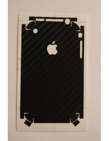 Карбоновая наклейка Iphone 2G. Черный цвет