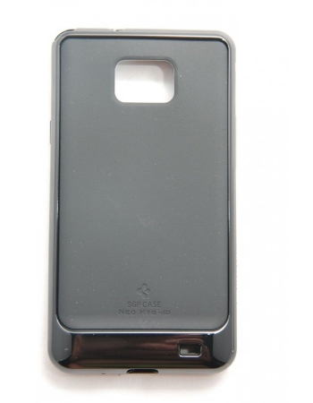 Чехол SGP Neo Hybrid Samsung Galaxy S2 i9100. Черный цвет