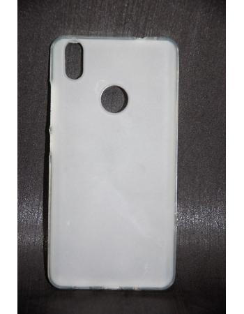 Чехол силиконовый BQ Aquaris X/X PRO силиконовый. Прозрачный матовый цвет