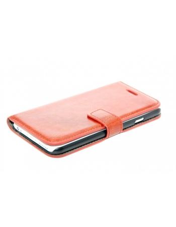 """Кожаный чехол-визитница для Iphone 6 (4.7""""). Коричневый цвет"""