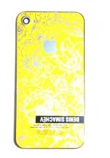 Крышка Iphone 4s Simachev. Желтый цвет