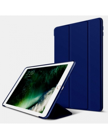 Чехол силиконовый с крышкой Ipad Pro 10.5. Синий цвет