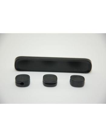 Держатель кабеля Baseus Peas Cable Clip. Черный цвет