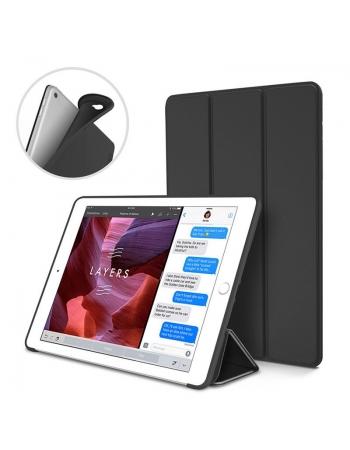 Чехол силиконовый с крышкой Ipad Pro 10.5. Черный цвет