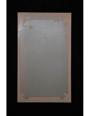 Карбоновая пленка Iphone 2G. Алюминиевый матовый цвет