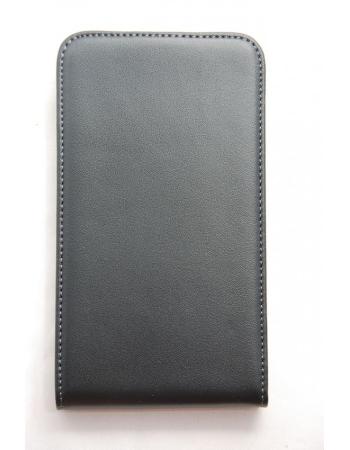 Чехол Samsung Galaxy Note i9220 GT-N7000. Натур кожа, черный цвет