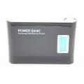 Аккумулятор Power Bank 12000 Mah HN-030 LED. Черный цвет