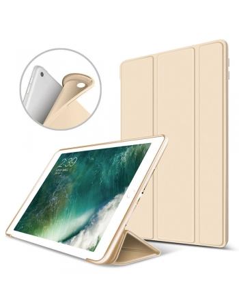 Чехол силиконовый с крышкой Ipad Pro 10.5. Золотой цвет