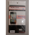 Комплект прозрачных пленок Iphone 4/4s. Спец цена!
