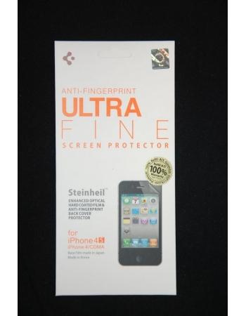 Комплект матовых пленок SGP Ultra Fine Iphone 4/4s