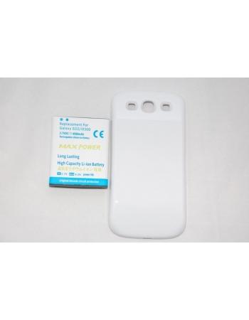 Усиленный аккумулятор Samsung Galaxy Note i9300 + крышка. Емкость 4500 Mah