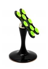 Магнитный держатель с присоской для смартфонов/планшетов. Черный цвет