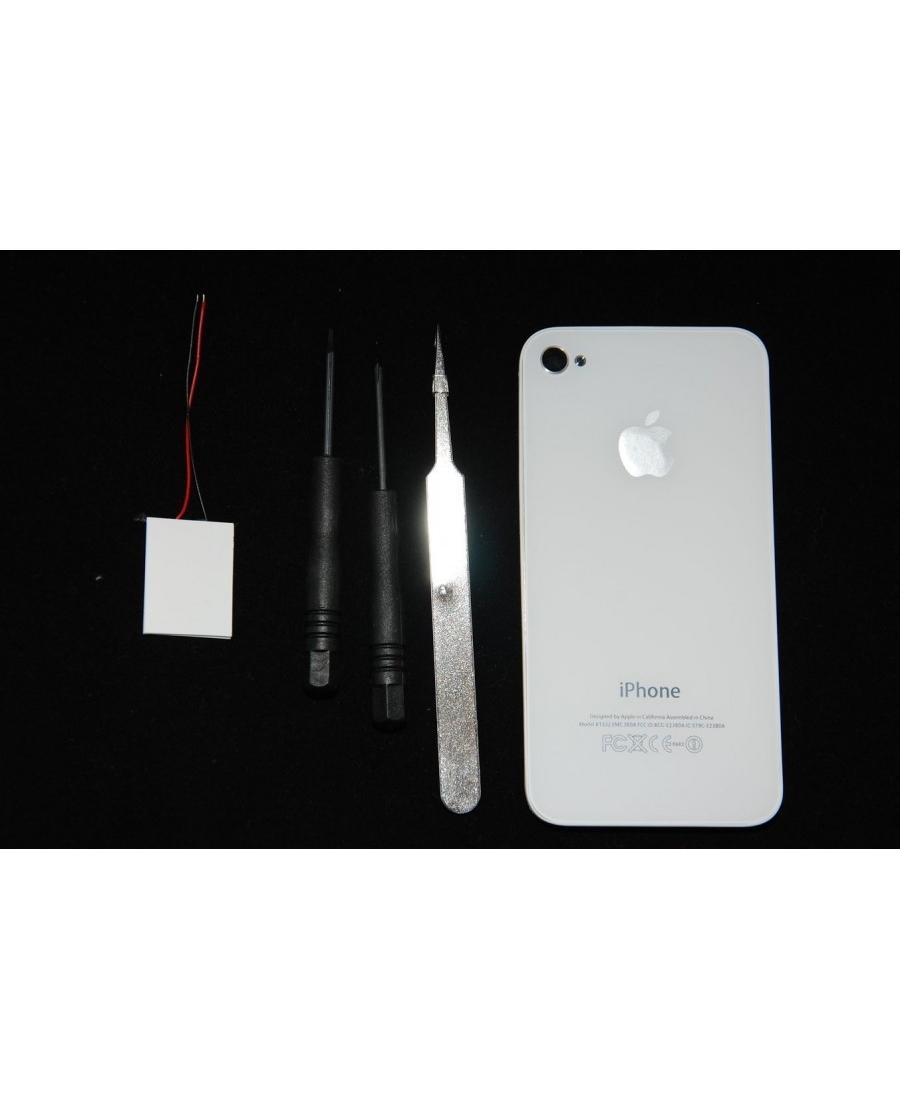 Комплект светояблоко для Iphone 4. Белый цвет