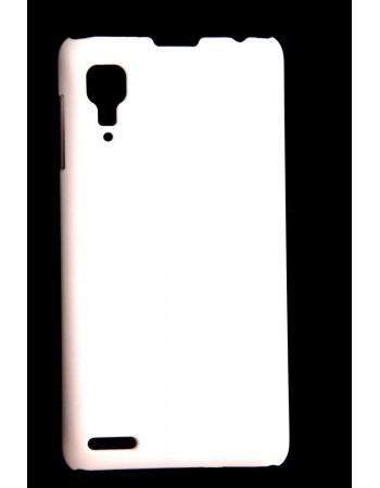 Панелька-чехол Lenovo P780. Белый цвет