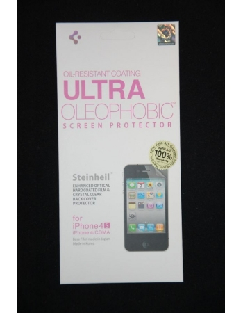 Комплект пленок SGP Ultra Oleophobic Iphone 4/4s