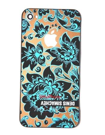 Крышка Iphone 4 Simachev. Голубой цвет