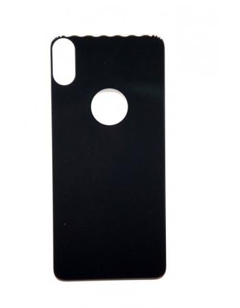 Защитное стекло Iphone X для задней панели, Baseus. Черный цвет