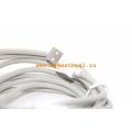 Длинный кабель Belkin F8j023bt3M Lightning, 3 метра. Белый цвет