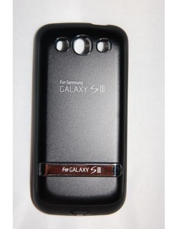 Чехол-аккумулятор Samsung Galaxy S3 i9300, 3200 Mah. Черный цвет