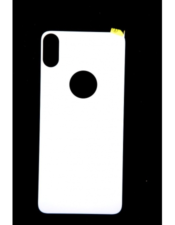 Защитное стекло Iphone X для задней панели, Baseus. Белый цвет