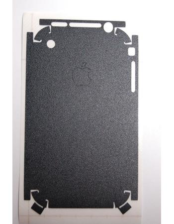Карбоновая наклейка Iphone 2G. Черный цвет. Матовый