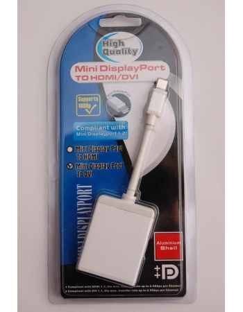 Адаптер Mini DisplayPort to DVI-D (dual link)