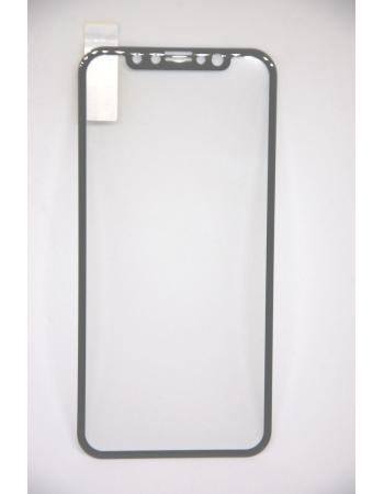 Защитное 3D стекло для Iphone X Baseus. Черный цвет
