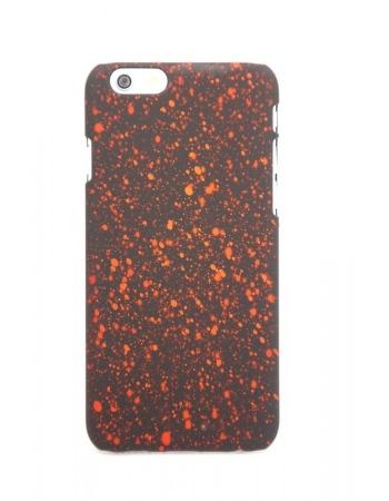 """Защитная панелька iphone 6 (4.7) """"звездное небо"""". Красный цвет"""