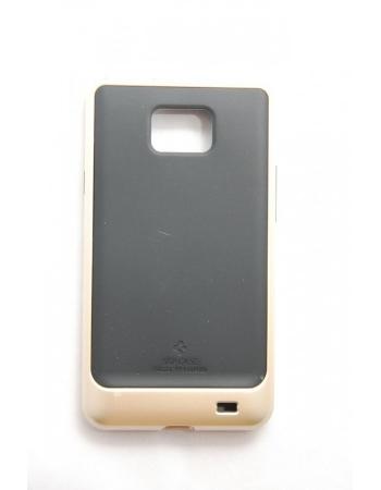 Чехол SGP Neo Hybrid Samsung Galaxy S2 i9100. Золотистый/черный цвет