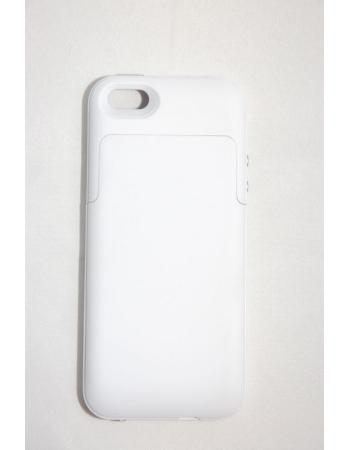 Чехол-аккумулятор Iphone 5, 2200 Mah. Белый цвет
