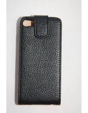 Чехол Flip Ipod Touch 5, кожзам. Черный цвет
