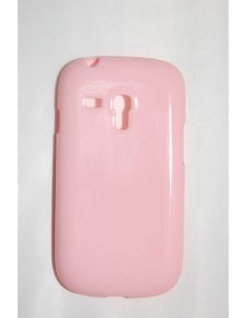 Чехол Samsung Galaxy S3 mini. Розовый цвет