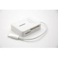 Картридер Ipad 4/Ipad mini lightning IOS 7.*. Белый цвет