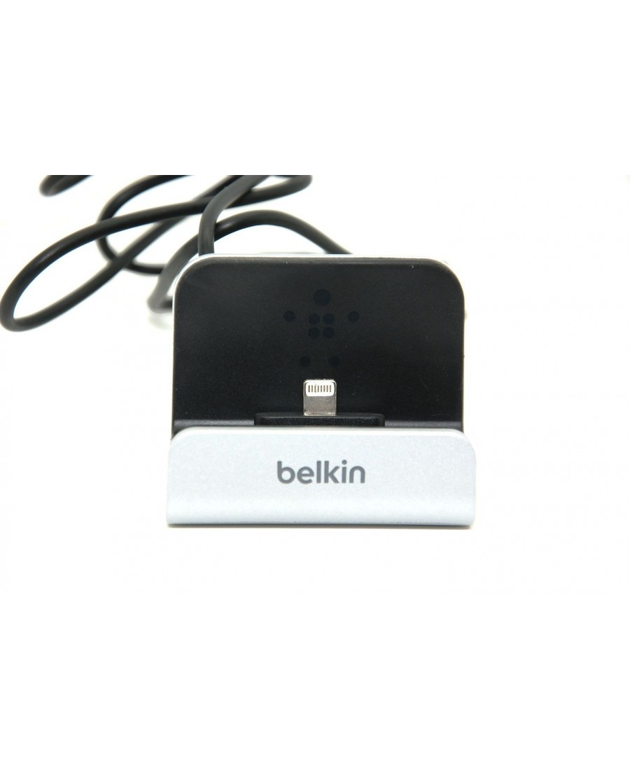 Док станция Belkin F8J045 lightning для Iphone 5/5s/5c/6/6 plus, ipod touch. Серебристый цвет