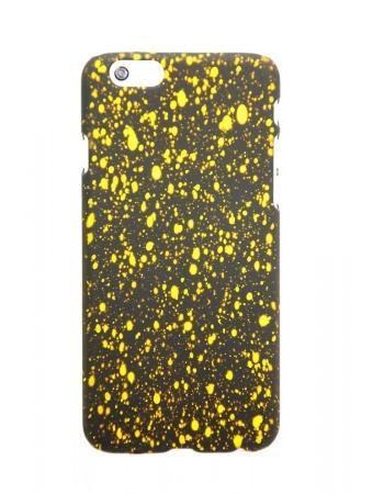 """Защитная панелька iphone 6 (4.7) """"звездное небо"""". Желтый цвет"""