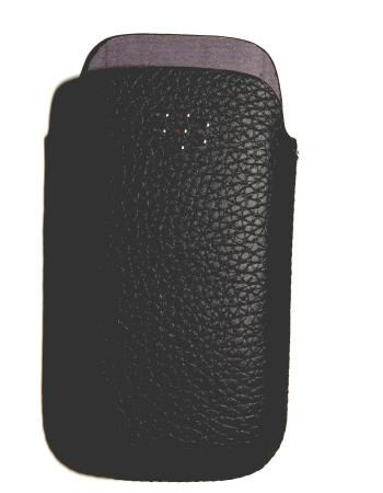 Оригинальный чехол для Blackberry 9100. Черный цвет. В коробке.