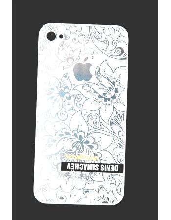 Крышка Iphone 4s Simachev. Белый цвет