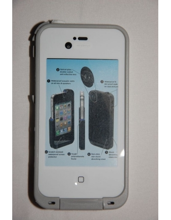 Водонепроницаемый чехол Iphone 4/4s пр-во Ipega. Белый цвет