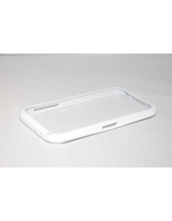 Алюминиевый чехол Iphone 5 Bumper. Белый цвет