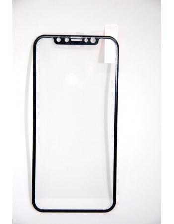 Защитное 3D стекло для Iphone X Baseus Anti Bluelight. Черный цвет