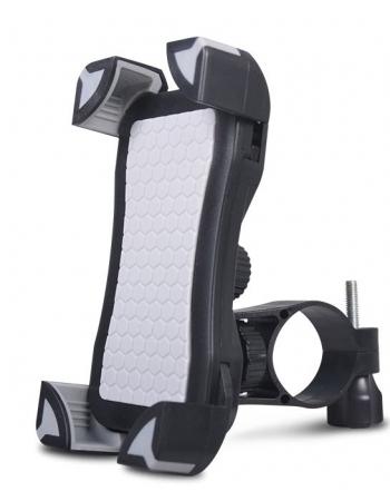 Универсальный велодержатель для смартфона. Черный+серый цвет