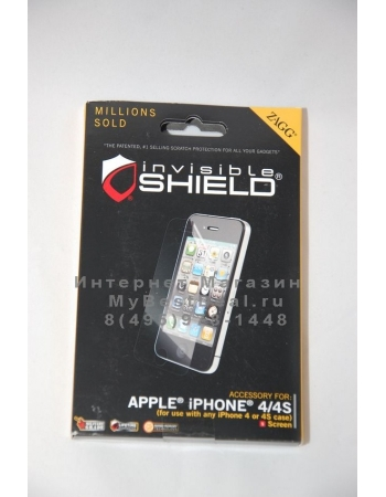 Пленка Zagg Invisible Shield Iphone 4/4s