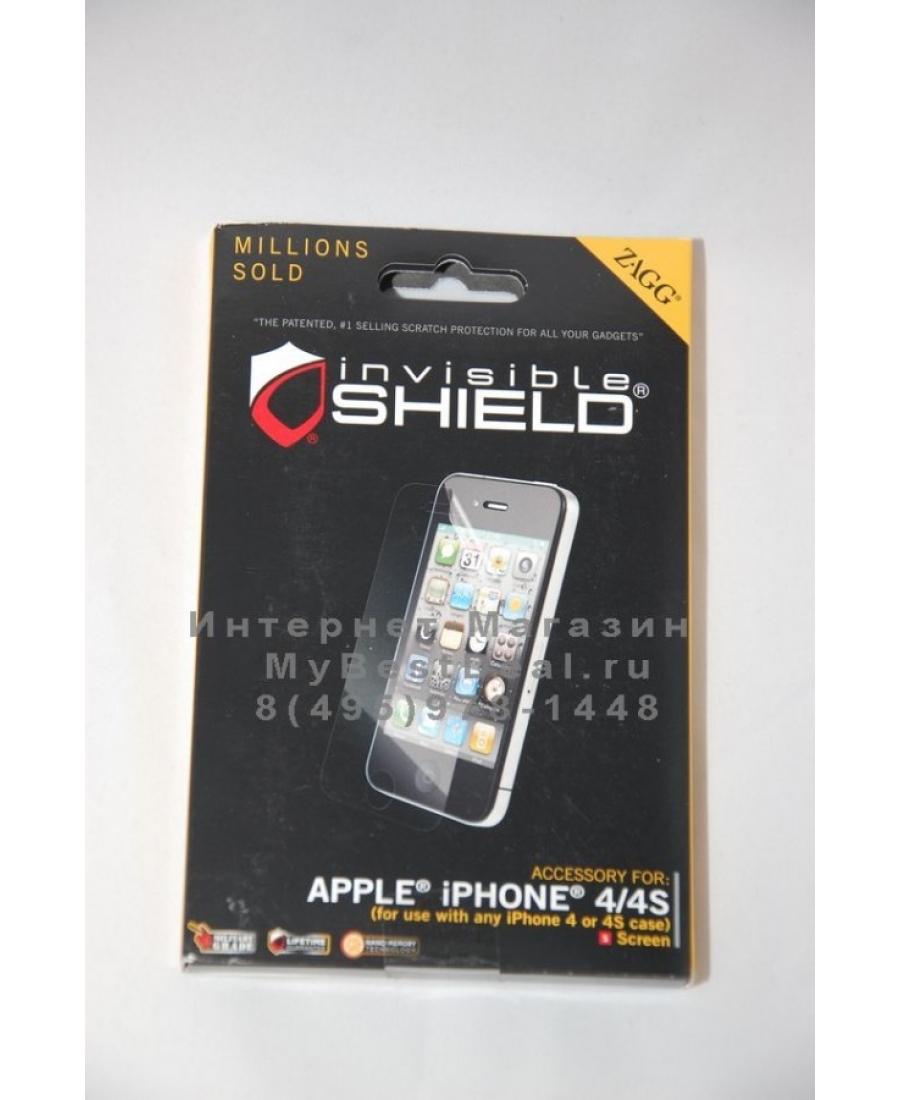 Пленка Zagg Invisible Shield Iphone 4/4s