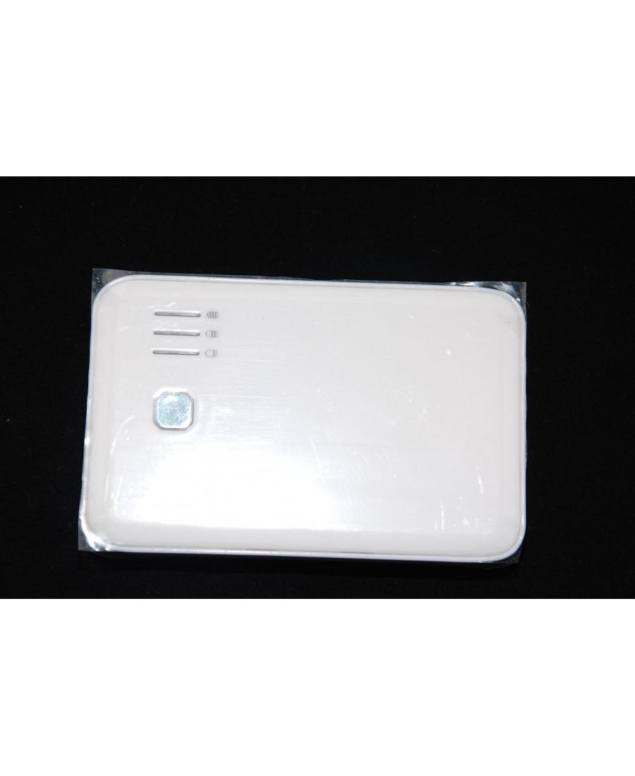 Внешний аккумулятор Powerbank 5000 Mah. Белый цвет